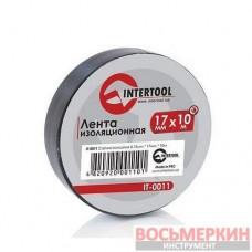 Лента изоляционная 0.15 мм х 17 мм х 10 м черная IT-0011 Intertool