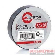 Лента изоляционная 0.15 mm х 17 mm х 15 m черная IT-0016 Intertool