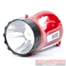 Фонарь аккумуляторный 1 LED 5W и 15 LED LB-0101 Intertool