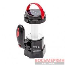 Фонарь аккумуляторный 1W и 12 LED LB-0111 Intertool