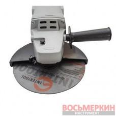 Шлифмашина угловая 1650 Вт, 8000 об/мин, диаметр круга 180 мм, фиксатор DT-0218 Intertool