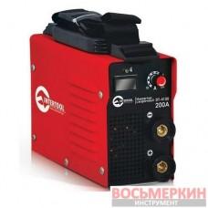 Инвертор сварочный 7.1кВт, 30-200А, электрод 1.6-4.0мм, кейс. DT-4120 Intertool
