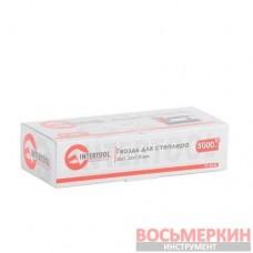 Гвоздь для степлера пневматического PT-1603 30мм 1.0*1.25мм 5000шт/упак. PT-8630 Intertool