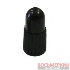 Колпачок черный пластиковый V-86 для велосипедных вентилей