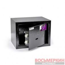 Мебельный сейф 2.9 кг БС-17К.9005 Ferocon