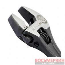 Ключ разводной 100 мм Cr-V черный фосфатированный XT-0054 Intertool