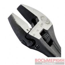 Ключ разводной 150 мм Cr-V черный фосфатированный XT-0056 Intertool