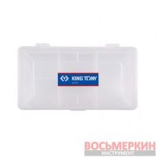 Пластиковый бокс 180 x 39 x 96 мм 87137 KingTony