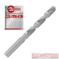 Сверло по металлу 1мм HSS SD-5010 Intertool
