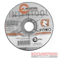Круг зачистной по металлу 115*6*22.2 мм CT-4021 Intertool