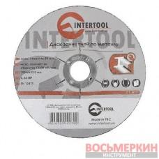 Круг зачистной по металлу 150*6*22.2мм CT-4023 Intertool