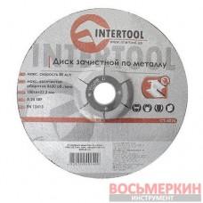 Круг зачистной по металлу 180*6*22.2мм CT-4024 Intertool