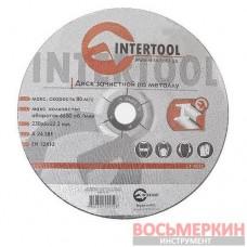 Круг зачистной по металлу 230*6*22.2мм CT-4025 Intertool