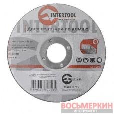 Круг отрезной по камню 125*3*22мм CT-5002_ Intertool