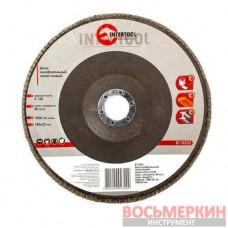 Диск шлифовальный лепестковый 180 * 22мм зерно K120 BT-0232 Intertool