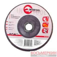Диск шлифовальный лепестковый 180 * 22мм зерно K150 BT-0235 Intertool