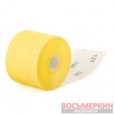 Шлифовальная шкурка на бумажной основе К120 20 cм х 50 м BT-0821 Intertool