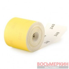 Шлифовальная шкурка на бумажной основе К240 20 cм х 50 м BT-0825 Intertool