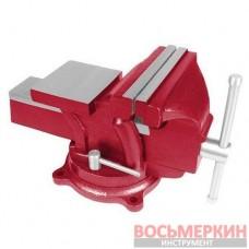 Тиски слесарные поворотные 100 мм HT-0051 Intertool