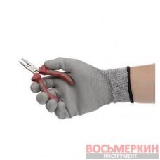 Утконосы прямые прецизионные комбинированные с накладками на рукоятках из двух материаллов 115 мм NT-0102 Intertool