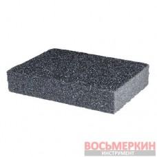 Губка для шлифования 100*70*25 мм, оксид алюминия К60 HT-0906 Intertool