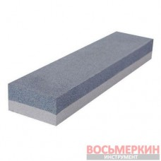 Брусок абразивный двухсторонний 200 х 50 х 25 мм К120, К240 HT-0552 Intertool