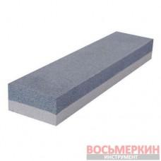 Брусок абразивный двухсторонний 150 х 50 х 25 мм К120, К240 HT-0551 Intertool