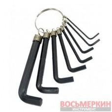 Набор Г-образных шестигранных ключей 10шт., 1.5-10мм HT-1842 Intertool