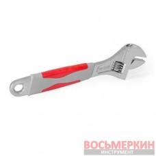 Ключ разводной 200 мм изолированная рукоятка никелевое покрытие XT-0020 Intertool