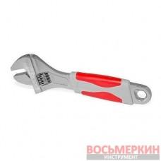 Ключ разводной 150 мм изолированная рукоятка никелевое покрытие XT-0015 Intertool