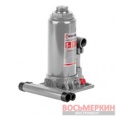 Домкрат бутылочный 5т GT0023 Intertool одноштоковый