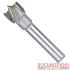 Фреза Форстнера 15 мм хвостовик 8 мм под минификс SD-0490 Intertool