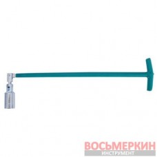 Свечной ключ Т-образный с шарниром 21х500 мммм HT-1723 Intertool