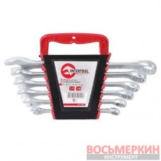 Набор ключей комбинированных 6 шт 8-17 мм Cr-V HT-1201 Intertool