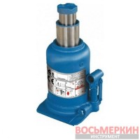 Домкрат бутылочного типа 5 т 222-500 мм двойной шток синий TН805001 Torin