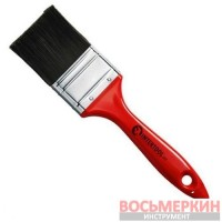 Кисть флейцевая 76 х 18 х 76 мм пластиковая ручка KT-1476 Intertool