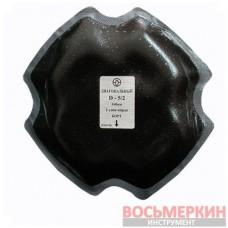 Пластырь диагональный D 5 2 160 мм 2 слоя корда Россвик Rossvik