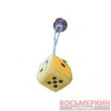 Игрушка Кубик на присоске 4,5см оранжевый