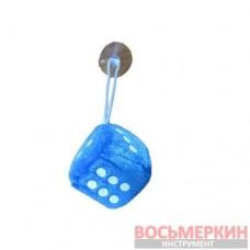 Игрушка Кубик на присоске 4,5см синий