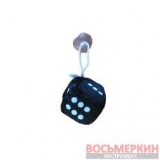 Игрушка Кубик на присоске 4,5см черный