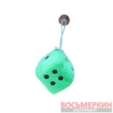 Игрушка Кубик на присоске 6 см зеленый