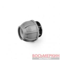 Заглушка для труб PN10 PE 50мм DSRA10Z50 Bradas