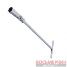Ключ свечной 16мм с карданом (Харьков) СВ16КАРДХ