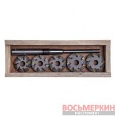 Набор зенкеров для сёдел клапанов ВАЗ 2101-2107,2108(1500),АЗЛК (Днепропетровск) ШАРЖ-7Р