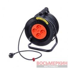 Переноска гаражная (бобина) силовая 40м (Днепропетровск) ПЕР40БС