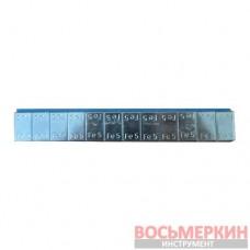 Груз клеящийся низкий голубая лента 12х5г металл Польша