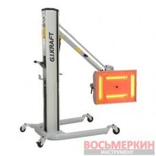 Инфракр. коротковол. сушка (4х1000W, 40°C-100°C, 0-99мин, ж/к дисп., датчик рас.и t GI15115G.I. KRAF