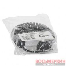 Шланг для аэрографа спиральный полиуретан 4 x 6мм 3м PT-1750 Intertool