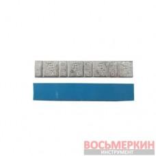 Груз клеящийся низкий голубая лента 4х10г+4х5г АВ Украина 50 шт в упаковке 50037
