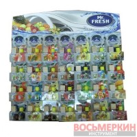 Ароматизатор Mr.Fresh бутылочка с запаской планшет 28 шт цена за 1 шт